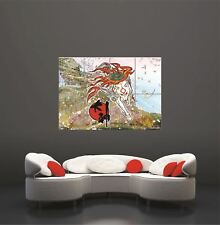 Okami Gamge Gaming Japanese Giant Art Print Home Decor Poster