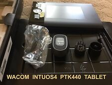 Wacom INTUOS4 PTK-440 Wireless MOUSE, Wireless PEN Factory Box Xmas Best