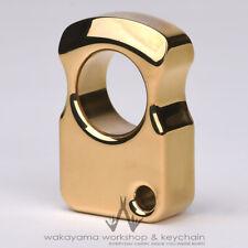 18mm Brass Knucks Keychain EDC Tool Every Day Carry Knuckle Keychain Luxury Ring