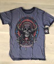 Affliction Tee Tomahawk T-shirt L