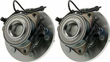 Hub Bearing for 2006, 2007 & 2008 Hummer H3 Fit ALL TYPES Wheel-Front Pair