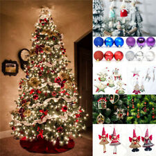 2020 CHRISTMAS Bundle tree Decorations Silver Angel Baubles Decorations Xmas NEW