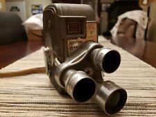 Vintage Keystone K-27 Triple Turret 8mm Roll Film Camera With Original Box 📷👍