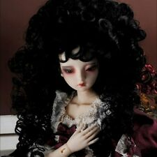 "Dollmore 1/3 BJD dollfie SD wig  (8-9)"" Reona Long Wig (Black) SD size"