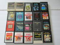 Lot of 20 Atari 2600 Games TESTED Donkey Kong Mouse Trap Pac-Man Frogger Dig Dug