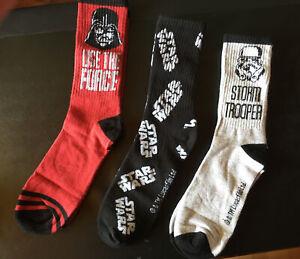 3er Pack Socken -  Star Wars   - Gr. 43 - 46 -