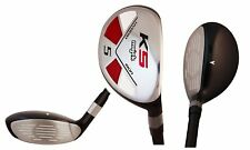 "Majek Golf Senior Lady #5 Hybrid Lady ""L"" Flex Club, Premium Arthritic Grip"