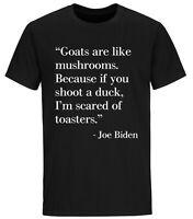 Joe Biden Funny Quote T shirt Trump 2024 Political T-Shirts Funny Biden Shirts