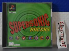 Supersonic Racer OVP Sony Playstation 1 P1 PSX Pone NEU New Box Multiplayer 1-8