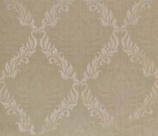 "Jacquard Ivory Shell Upholstery Drapery Transitional Fabric per yard 54"" wide"