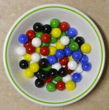 Standard Chinese Checkers Marbles - Gorgeous Colors NEW, BRIGHT COLORS!
