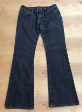 Women's Michael Kors Size 0 Boot Cut Blue Denim Medium Wash Stretch Jeans