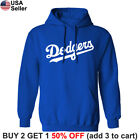 Внешний вид - Los Angeles Dodgers Wordmark Hoodie Hooded Sweat Shirt LA Sweatshirt Sweater