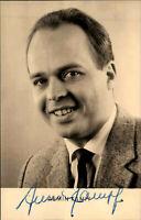 Autogrammkarte Autograph Film Bühne DDR Fernsehen signiert ARMIN KÄMPF Foto 1964