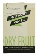 Cookery / Trade Literature / DRYFRUIT Fruit Without Water Dry Fruit Products