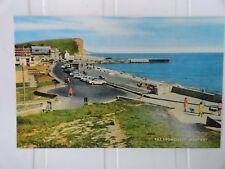 Vintage Postcard-- WEST BAY--BRIDPORT--DORSET- THE PROMENADE (BROADCHURCH)--VGC