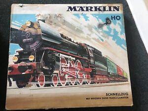 MARKLIN 3188 HO Vintage Train Set