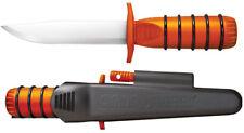 Cold Steel 80PH Survival Edge Orange Handle Knife