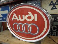 Audi,rally,quattro,auto union,TT,vintage,mancave,lightup sign,garage,workshop,vw