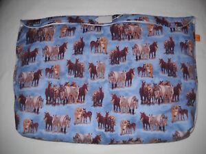 Breyer oversize pony pocket pouch traditional classic custom model horse fabric