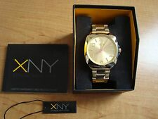 XNY Women's Watch BV8053X1 City Chic Gold Ion-Plated Stainless Steel  NEW Seiko
