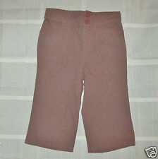 CALVIN KLEIN JEANS Toddler Girls Brown Pants Size 3T