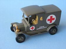 Matchbox Yesteryear Ford T Van Army Field Ambulance