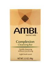 AMBI SKINCARE COMPLEXION CLEANSING BAR SOAP  3.5 OZ.