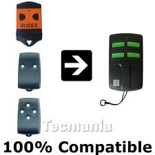 Roger Tx22 / Tx12 / tx14 Reemplazo Garage Portón A Control Remoto Llavero Nuevo