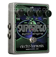 EHX Electro Harmonix Superego Synth Engine Guitar Effects Pedal / Stomp Box