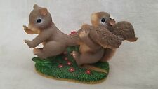 You Can't Run From Love ~ Charming Tails ~ 84/104 (Fitz & Floyd Collectible)
