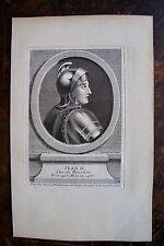 JEAN II DUC DE BOURBON . PORTRAIT, GRAVURE ORIGINALE , 1760