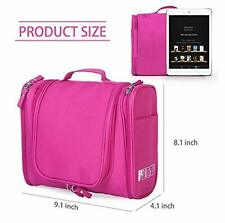 Toiletry Bag for Women and Men Travel Toiletry Bag   (Pink)  free shipping US