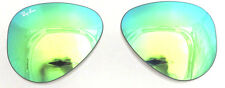 LENTI RICAMBIO RAY BAN 4125 59 CATS 5000 GREEN MIRROR REPLACEMENT LENSES VERDE