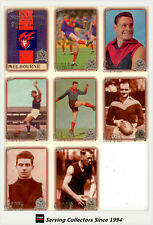 1996 Select AFL Inaugural Hall Of Fame PLATINUM Team Set Melbourne(8)-RARE