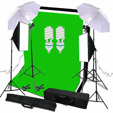 Photo Studio Video Soft Box Softbox Light Lamp Continuous Lighting Stand Kit Set