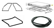 BMW E21 Coupe 2 Doors Weatherstrip Trunk Lid Rubber Sunroof Seal Gasket 4 pcs
