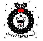 Merry Christmas XMAS Deer Removable Art Vinyl Window Door Sticker Wall Decor