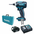 Makita 18v LXT Dtw281z Impact Wrench & 2 X Bl1840 Batteries Fuel Cell Indicator