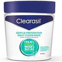 Clearasil Gentle Daily Facial Cleansing Pads for Acne Breakout Treatment (90ct)