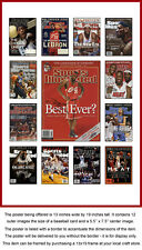 LeBron James Career Sports Illustrated Cover Collection Poster