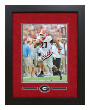 Nick Chubb Georgia Bulldogs Signed 11x14 Framed Rose Bowl 3rd QTR TD Photo w COA