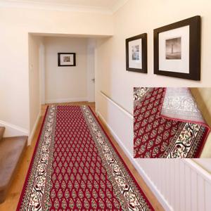Teppichläufer Läufer Teppich Flur Klassisch Orientalisch Meterware Rot 150 x 200