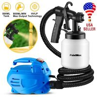 650W Electric Handheld Paint Sprayer Gun Nozzle High Pressure Home Painting HVLP