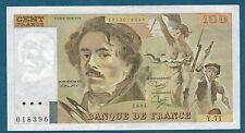 FRANCE - 100 FRANCS DE LA CROIX Fay n° 69. 8a de 1984. en SPL   Y.71 018396