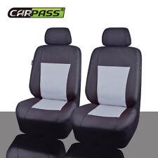 Universal Gray Car Seat Covers Gray Black Waterproof Oxford Cloth for SUV VAN