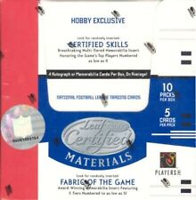 2005 Leaf Certified Materials NFL FOOTBALL HOBBY BOX