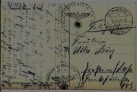 Feldpostkarte des Luftwaffen-Testpilot RUDOLF OPITZ an Ulla Burg 15.04.1941