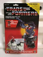 TRANSFORMERS G1 AUTOBOT PROTECTOBOT GROOVE MOSC! DEFENSOR US SELLER VERY RARE!
