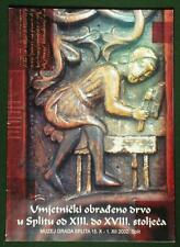 BOOK Croatian Medieval Wood Carving in Split antique sculpture furniture church